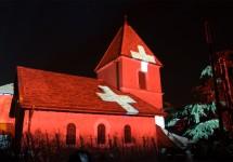Spectacle Luminis - Eglise de Luins